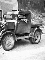 Hans Leitner: schon als Kind schraubte und lenkte er alles, was fuhr!