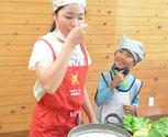 子ども料理教室のこだわり 味見を多く取り入れる
