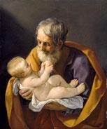 Saint Joseph et l'Enfant Jésus (1640) - Guido Reni.