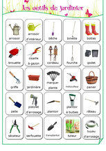 Jardinage - Fiches de préparations (cycle1-cycle 2-ULIS)