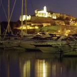 Yachthafen Marina in Ibiza-Stadt Nueva