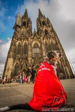 Auch unsere Hunde sind natürlich FC Fans! ;)