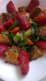 Erdbeer-Stremel-Salat