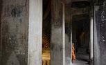Novize im Angkor Wat