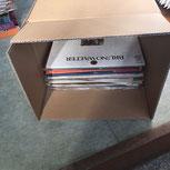 レコード宅配買取梱包の仕方