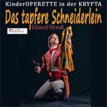 DAS TAPFERE SCHNEIDERLEIN- Eduard Strauß  in der Krypta