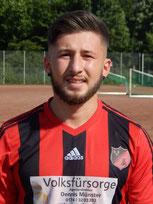 Emre Uslubas markierte seinen ersten Pflichtspieltreffer für BRK.