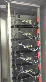 Gewerbe Stromspeicher Beispiel Firma Tesvolt Akku Batterie Lithium
