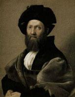 Retrato de Baltazar Castiglione, obra de Raffaello Sanzio (Rafael)
