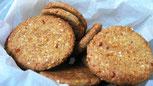 Biscotti di quinoa e arancia ricetta