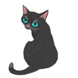猫イラストMAKO