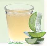 ma boisson péférée : Un verre d'eau avec de l'aloé véra  Freedom et des rondelles d'orange ou de citron | Aloé Vera Santé avec LR Health & Beauty