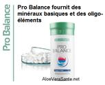 Pro Balance à base de minéraux aide à palier les carences et préserver votre équilibre acido-basique. Sans conservateur, sans lactose.   AloeVeraSante et Beauté LR