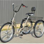 Dreirad und Gesundheit