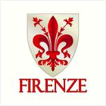 Wappen von der Stadt Florenz
