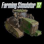 John Deere 9 RT Serie Farming Simulator 17 mod  9460RT 9510RT 9560RT