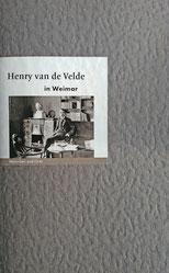 Edition A. B. Fischer, Henry van de Velde in Weimar
