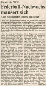 1984 Turnier in Düren