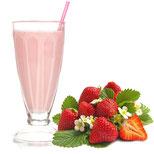 Erdbeermilch als Liquid, Erdbeer Milchshake Liquid selbst zusammenstellen