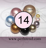Crystal Perlen Rund 14mm Swarovski Crystal Pearls