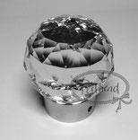 GLOBE HANDL BIG Silber-Crystal Swarovski Crystals