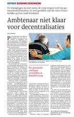 Drs. Jan Cooijmans RA - J. Cooijmans Consulting - Decentralisaties