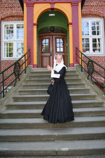 Frau Abendroth in Tracht