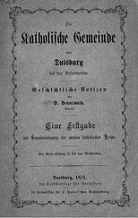 Titelseite der Festschrift von Bernard Vennewald