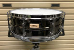 "Custom. Black Plated Brass / 14""x5"" SD"