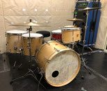 "Custom. Maple 8ply / 22""x15"" BD , 12""x8"" TT , 14""x13"" , 16""x15"" FT (NMP)"