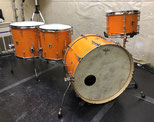 "Custom. Vintage Maple / 22""x14"" BD , 12""x8"" TT , 14""x13"" , 16""x15"" FT (VO)"