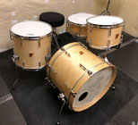 "Custom. Vintage Maple / 20""x14"" BD , 14""x5.5"" SD , Maple 8ply / 12""x8"" TT , 15""x14"" FT (NMP)"