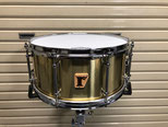 "Custom. Solid Brass / 14""x6.5"" SD"