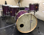 "Custom. Maple 8ply / 22""x15"" BD , 12""x8"" TT , 14""x13"" , 16""x15"" FT (VL)"