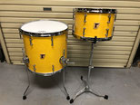 "Custom. Vintage Maple / 12""x8"" TT , 15""x14"" FT (YM)"