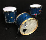 "Custom . Vintage Maple / 22""x14"" BD , 12""x8""TT , 16""x15""FT (IB)"