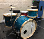 "Custom. Vintage Maple / 22""x15"" BD , 12""x8"" TT , 16""x15"" FT (TQB)"