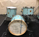 "Custom. Vintage Maple / 18""x14"" BD , 12""x8"" TT , 14""x13"" FT (RSG)"