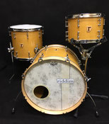 "Custom. Maple 8ply / 20""x14"" BD , 12""x8"" TT , 14""x13"" FT (AM)"