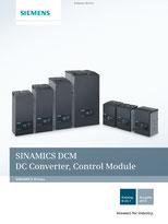 SIEMENS - SINAMICS DCM - DC Converter, Control Module - Katalog - D 23.1 - Ausgabe 2014 © Siemens AG 2020, Alle Rechte vorbehalten
