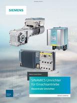 SINAMICS Umrichter für Einachsantriebe Dezentrale Umrichter Katalog D 31.2 © Siemens AG 2019, Alle Rechte vorbehalten