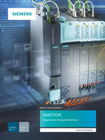 SIEMENS - SIMOTION - Equipment for Production Machines - Motion Control System - Catalog PM 21 - Edition 2017 © Siemens AG 2019, All rights reserved