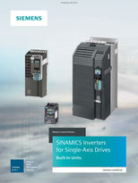 SINAMICS Inverters for Single-Axis Drives Built-In Units - Catalog D 31.1 - Edition 2018 - PDF Update 06/2018 © Siemens AG 2020, All rights reserved