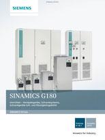 SINAMICS G180 Umrichter – Kompaktgeräte, Schranksysteme, Schrankgeräte luft- und flüssigkeitsgekühlt Katalog D 18.1 © Siemens AG 2020, Alle Rechte vorbehalten