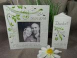Hochzeitsfoto schwarz weiß