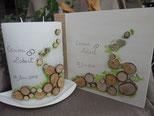 Gästebuch passend zur Kerze