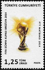Fussball-WM 2014 Türkei Ersatzmarke 1