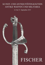 Catalogue de la vente d'armes septembre 2013