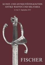 Catalogue de la vente d'armes septembre 2013