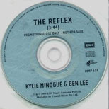 The Reflex (Kylie Minogue & Ben Lee, OZ Promo Single, 15.4.1999)